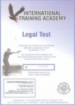 1 Legal Test