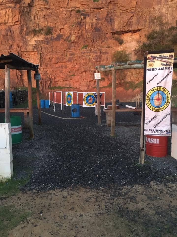 The False Bay Firearm Training Academy - Glencairn, Cape Town