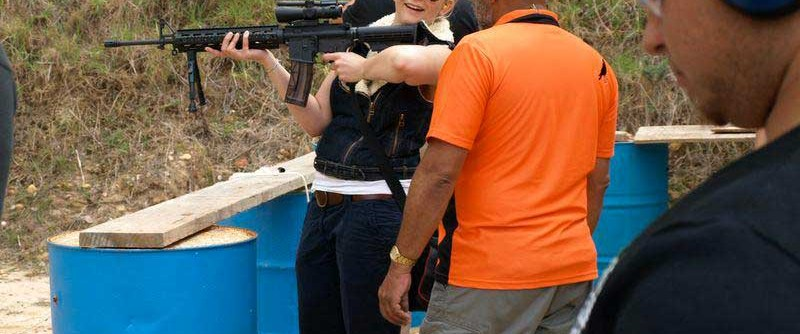 Book yourself in to a firearm experience with an expert trainer