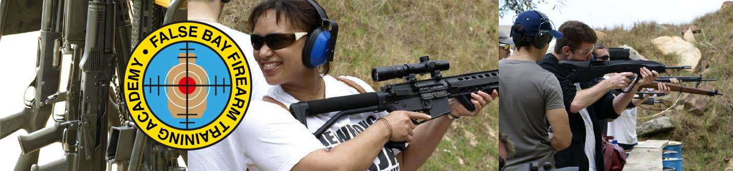 False Bay Firearm Training Academy | Arms, Ammunition, Gunsmithing