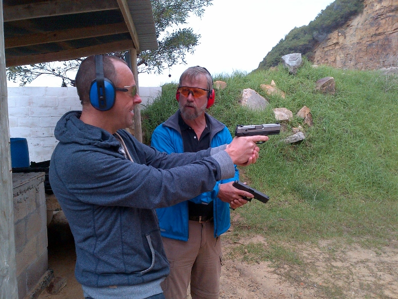 False Bay Training Academy - Handgun Shooting Training - Social Shooting Training or Sports Shooting Training
