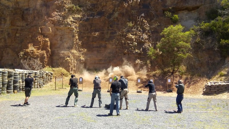 Tactical Training Course Cape Town - False Bay Firearm Training Academy