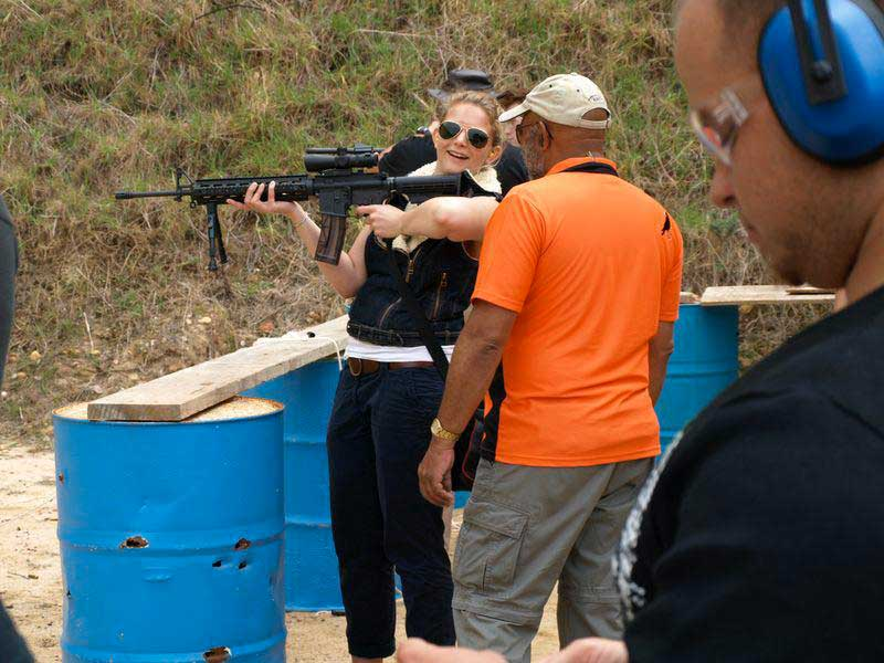 False Bay Firearm Training Academy - Rifle Training with Shooting Training and Shooting Supervision