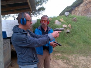 Shooting Range Cape Town. False Bay Shooting Range. False Bay Training Academy - Handgun Shooting Training - Social Shooting Training or Sports Shooting Training