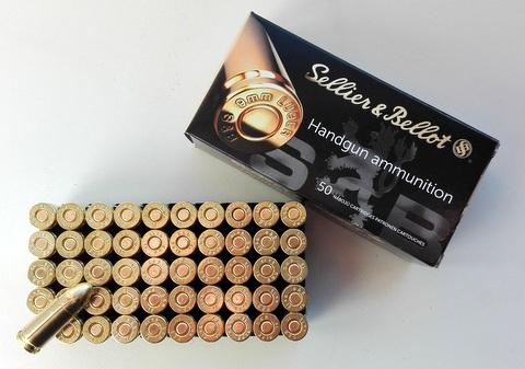 9mmp Sellier & Bellot Handgun Ammunition